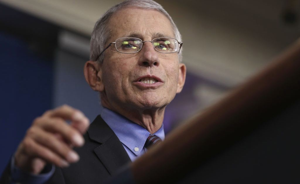 Coronavirus Antibody Tests Expected in the U.S. in Days, Says Fauci