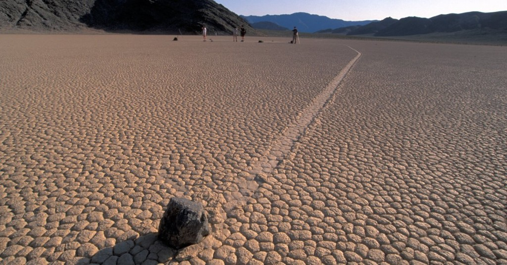 Solved: Mystery of Moving Stones in Death Valley