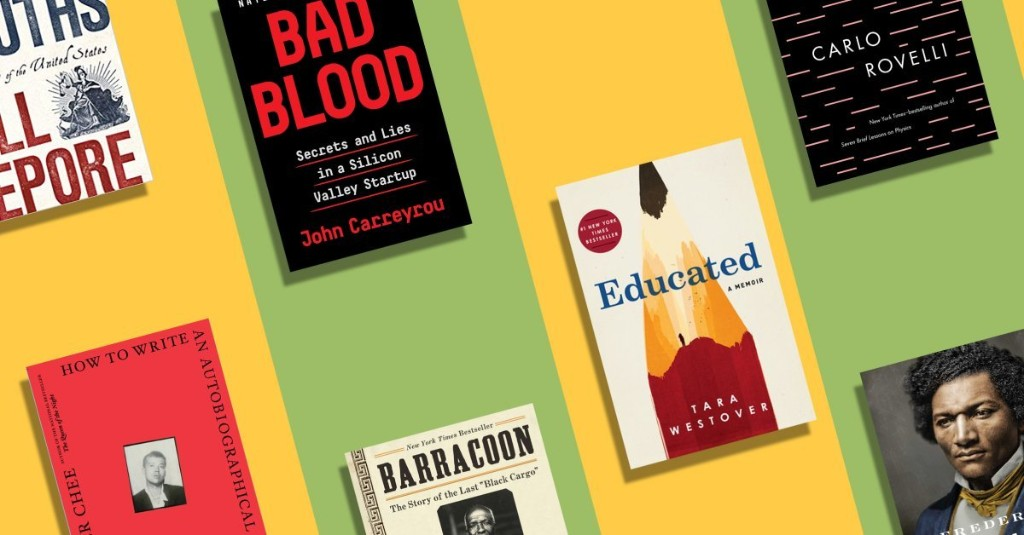 The 10 Best Nonfiction Books of 2018