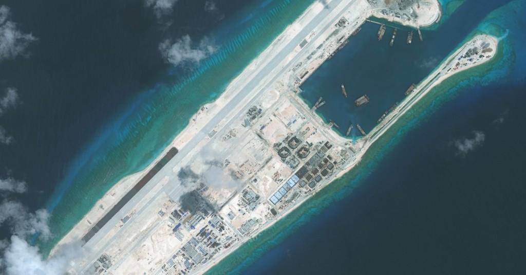 U.S. Sails Warship Near Reef Claimed By China