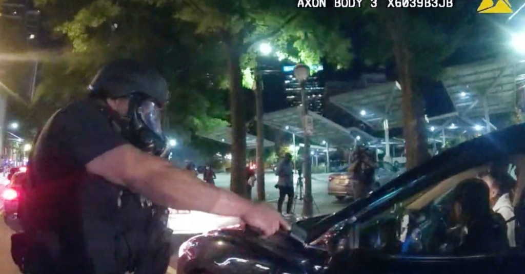 6 Atlanta Police Officers Are Charged After Video Shows Them Forcibly Removing Protesting College Students From Car