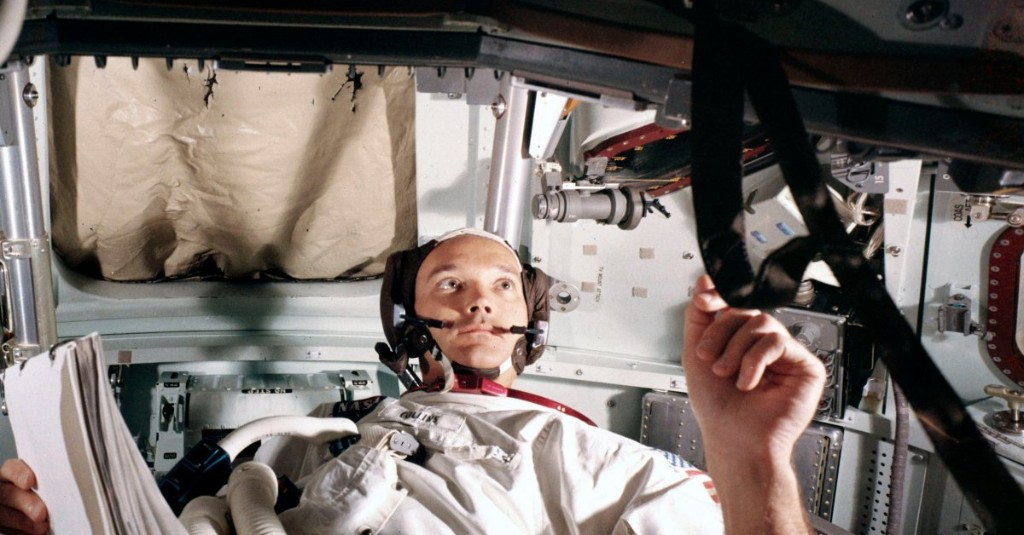 Apollo 11 Had 3 Men Aboard, But Only 2 Walked on the Moon. Here's What it Was Like to Be the Third