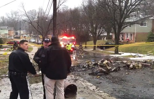 Plane Crashes into Home in Maryland Suburbs, Killing the Pilot
