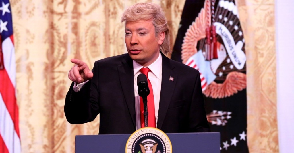 Jimmy Fallon Plays Trump to Launch 'Trump News Network'