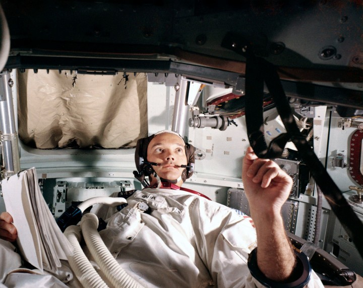 Michael Collins on Being Apollo 11's Moon Man in the Middle