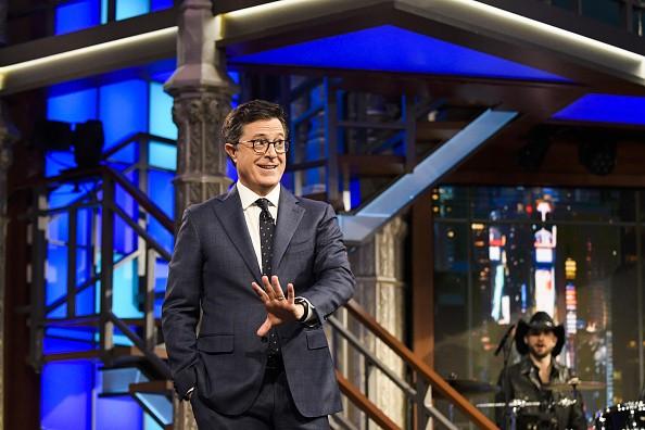 'Boy, It Sure Seems Longer.' Stephen Colbert Tears Into President Trump's First 100 Days