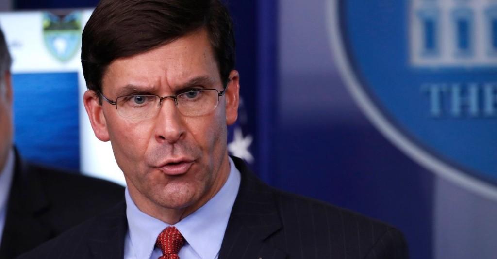 Defense Secretary Esper Defends Firing of Navy Ship Captain Over COVID-19 Warning