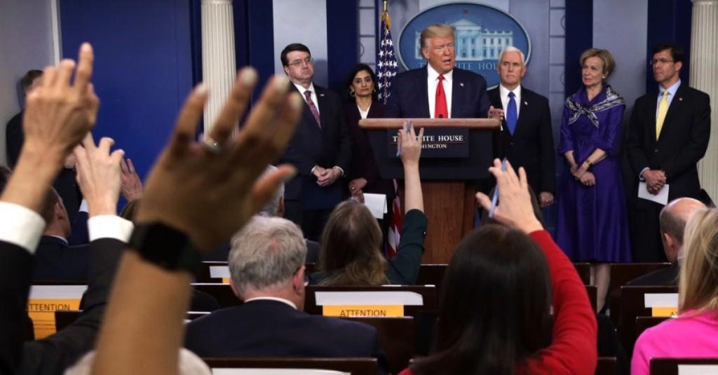 Under Fire For Coronavirus Response, Trump Officials Defend Disbanding Pandemic Team