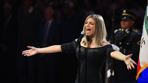 'I Honestly Tried My Best.' Fergie Speaks Out About Her National Anthem Performance