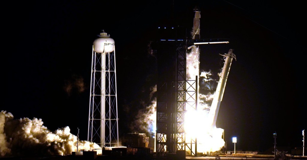 The SpaceX Capsule With Four Astronauts On Board Has Reached the International Space Station