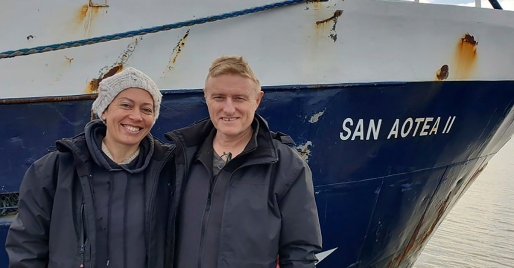 Honeymooning Couple Return Home via Antarctic Boat After Being Stranded for Months Because of COVID-19