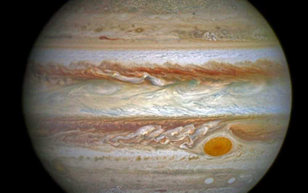 Dramatic Auroras Light Up Jupiter's Poles