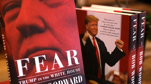 West Virginia Library Tries to Keep Bob Woodward's 'Fear' Off of Its Shelves