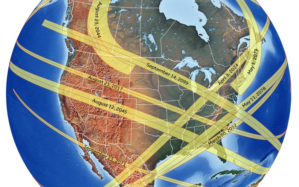 Here's Where You Can See Every Total Solar Eclipse for the Next 50 Years