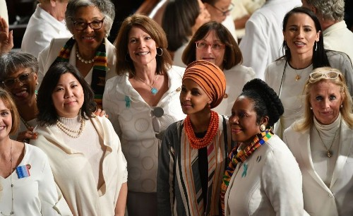 Why Democratic Congresswomen Are Wearing White at the State of the Union