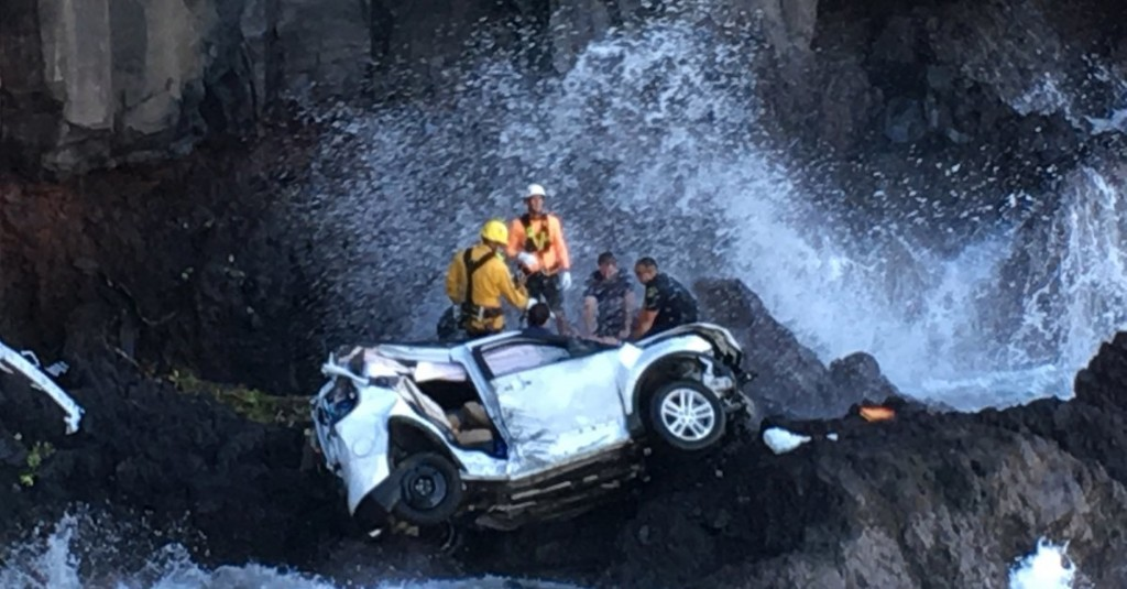 Hawaii Woman Charged With Murdering Her Twin by Driving SUV Off a Cliff