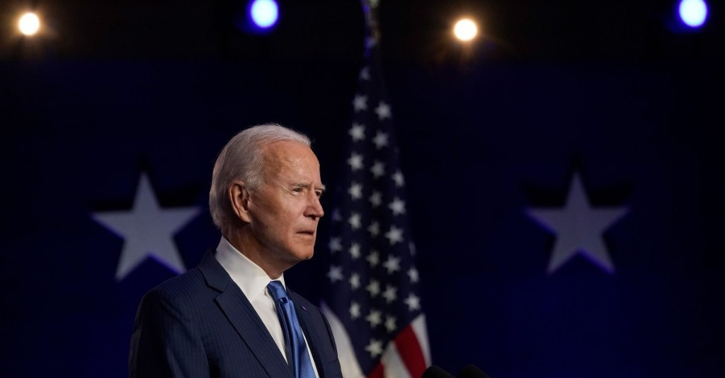 Joe Biden elected 46th President of the United States - cover