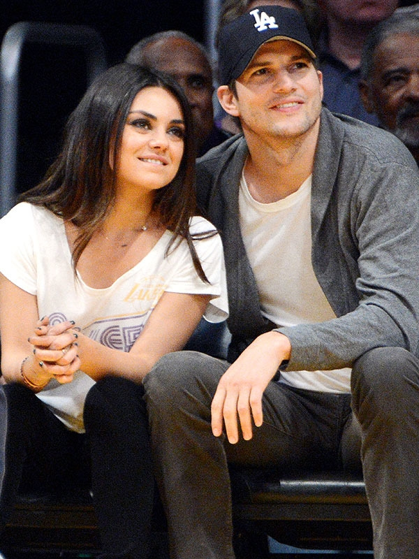 Ashton Kutcher and Mila Kunis Have an Elaborate Dinner Out with Baby Wyatt
