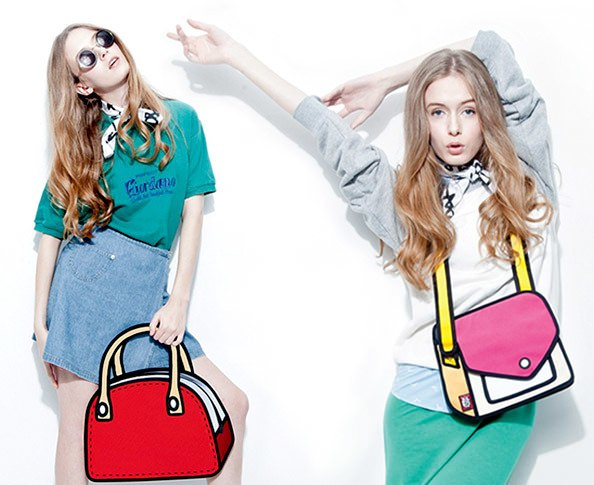 Shopping - Magazine cover