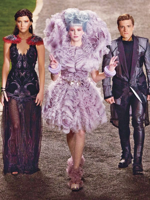 Hunger games by Jenna Kotschessa - Magazine cover