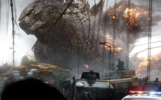 Godzilla - Magazine cover