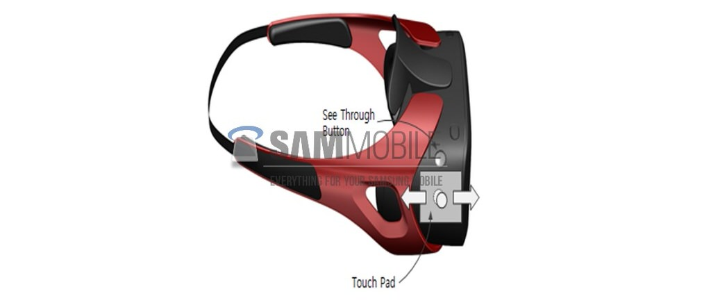Leaked Render Shows Samsung's Rumored Gear VR Headset