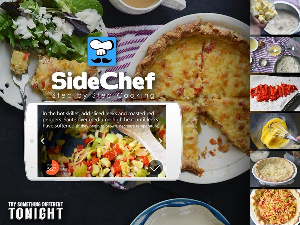 SideChef Cooking App Hits Android