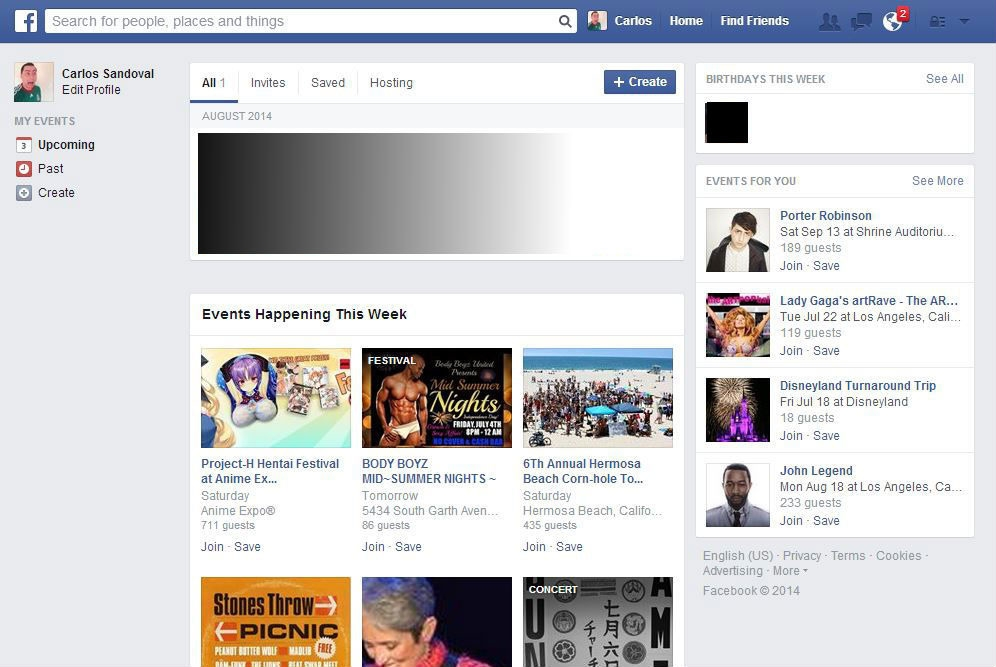Facebook builds on its suggested events feature to introduce 'Events for You'