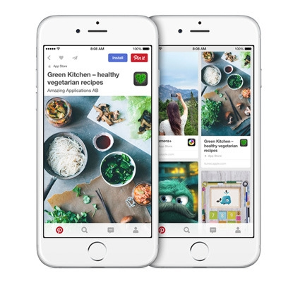 App Pins Make it Easy to Discover iOS Apps on Pinterest
