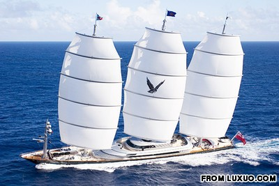 10 outrageous yachts for hire -- if you're filthy rich enough
