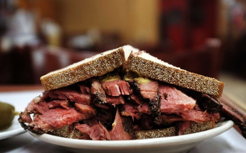 You no longer have to go all the way to New York City to get Katz's Deli pastrami