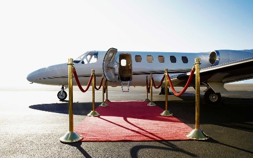 You could win a $2-million meal for two on a private jet