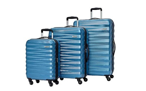 This 3-piece American Tourister luggage set is $200 off for Cyber Monday
