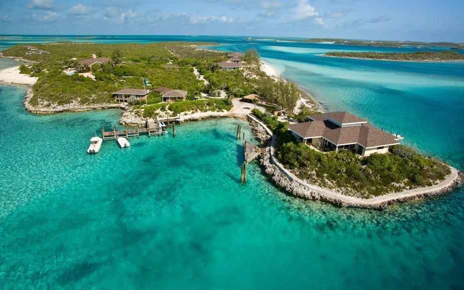 Vacation Destinations Caribbean  - Magazine cover