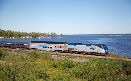 This $53 ride on a vintage glass-roofed Amtrak train comes with mesmerizing foliage views