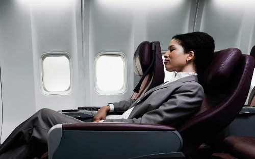 This survey explains what not to do on an airplane