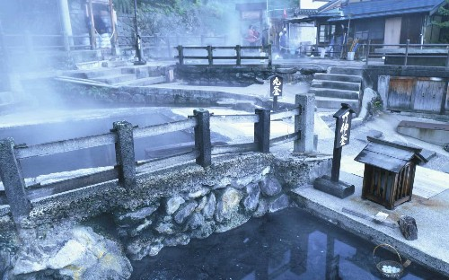 This little-known Japanese village has 14 free hot springs