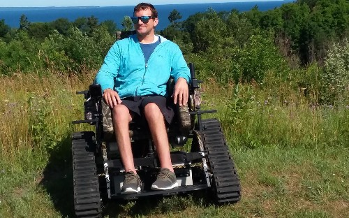 Special wheelchair lets visitors traverse scenic trails at national and state parks