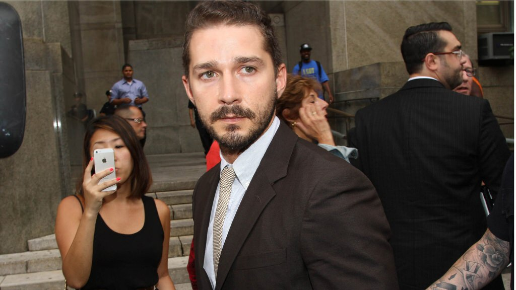 Shis Labeouf Court Case Put Off Due To Plea Aggrement - Magazine cover