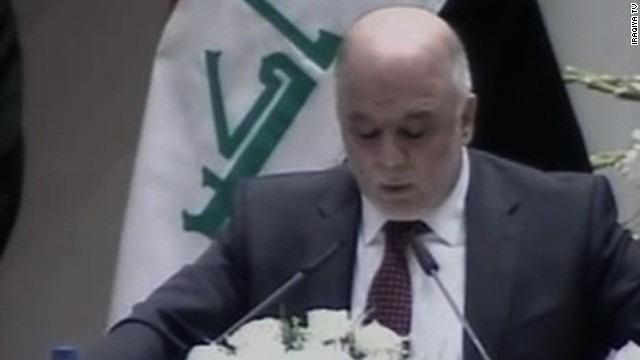 Iraqi lawmakers approve new government; al-Maliki becomes VP