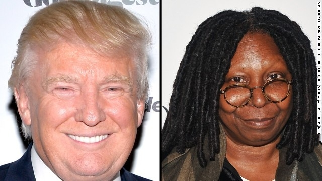 Donald Trump and Whoopi Goldberg feud over Ebola comments