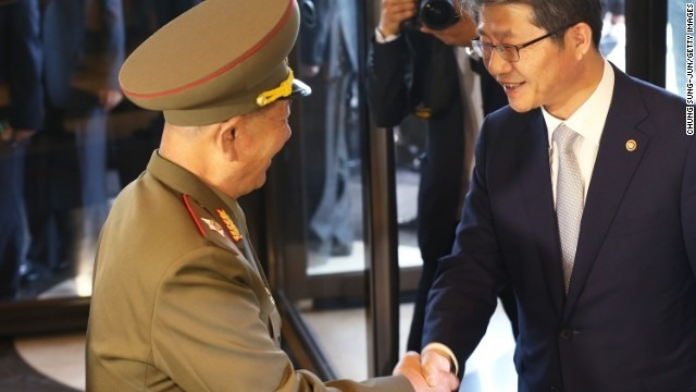With Kim out of sight, North Korean top brass pay snap visit to South