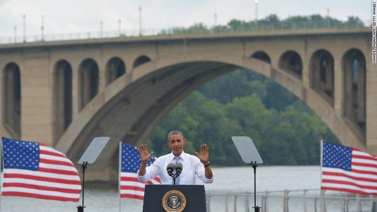 Obama to Republicans: 'So sue me'