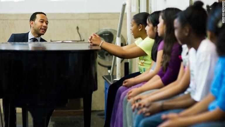 John Legend: Let every child's light shine