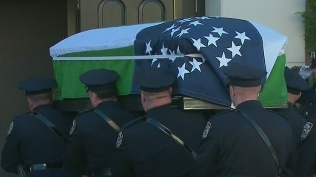 Wake for NYPD cop who saw work as ministry