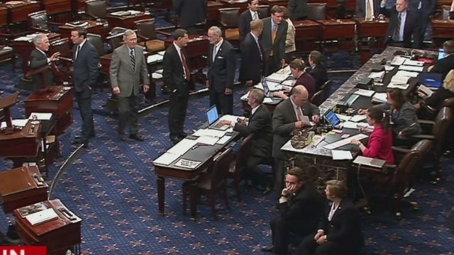 Senate sends spending bill to Obama