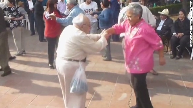 Groovin' grandpa shows off dance moves - CNN Video