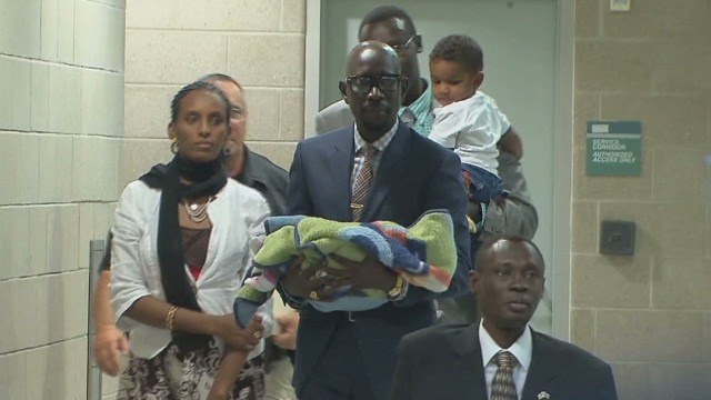 Sudanese Christian woman who once faced death penalty arrives in U.S.