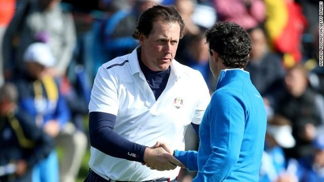 Ryder Cup: McIlroy knocked by Mickelson's mind games?
