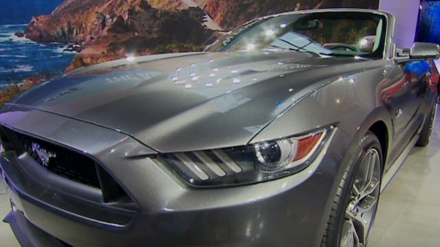 Check out the cool new Ford Mustang - CNN Video
